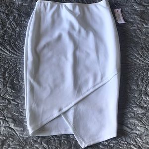 New White Pencil Skirt Sz M